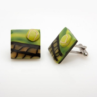 Tennis Cufflinks LS10