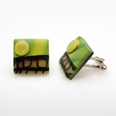 Tennis Cufflinks LS11