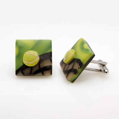 Tennis Cufflinks LS12