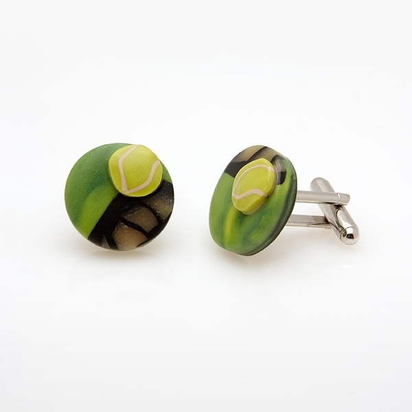 Tennis Cufflinks MC10