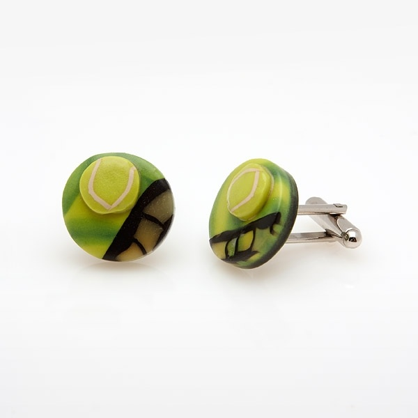 Tennis Cufflinks MC11
