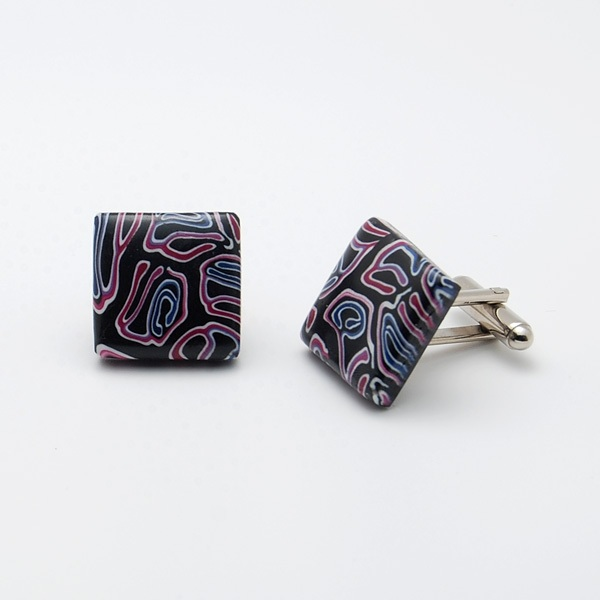 Labyrinth Cufflinks MS10