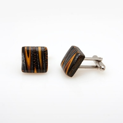 Black Gold Cufflinks SS10
