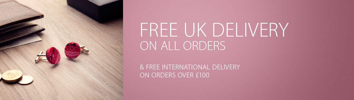 FREE UK Delivery on all orders & free international delivery on orders over £100